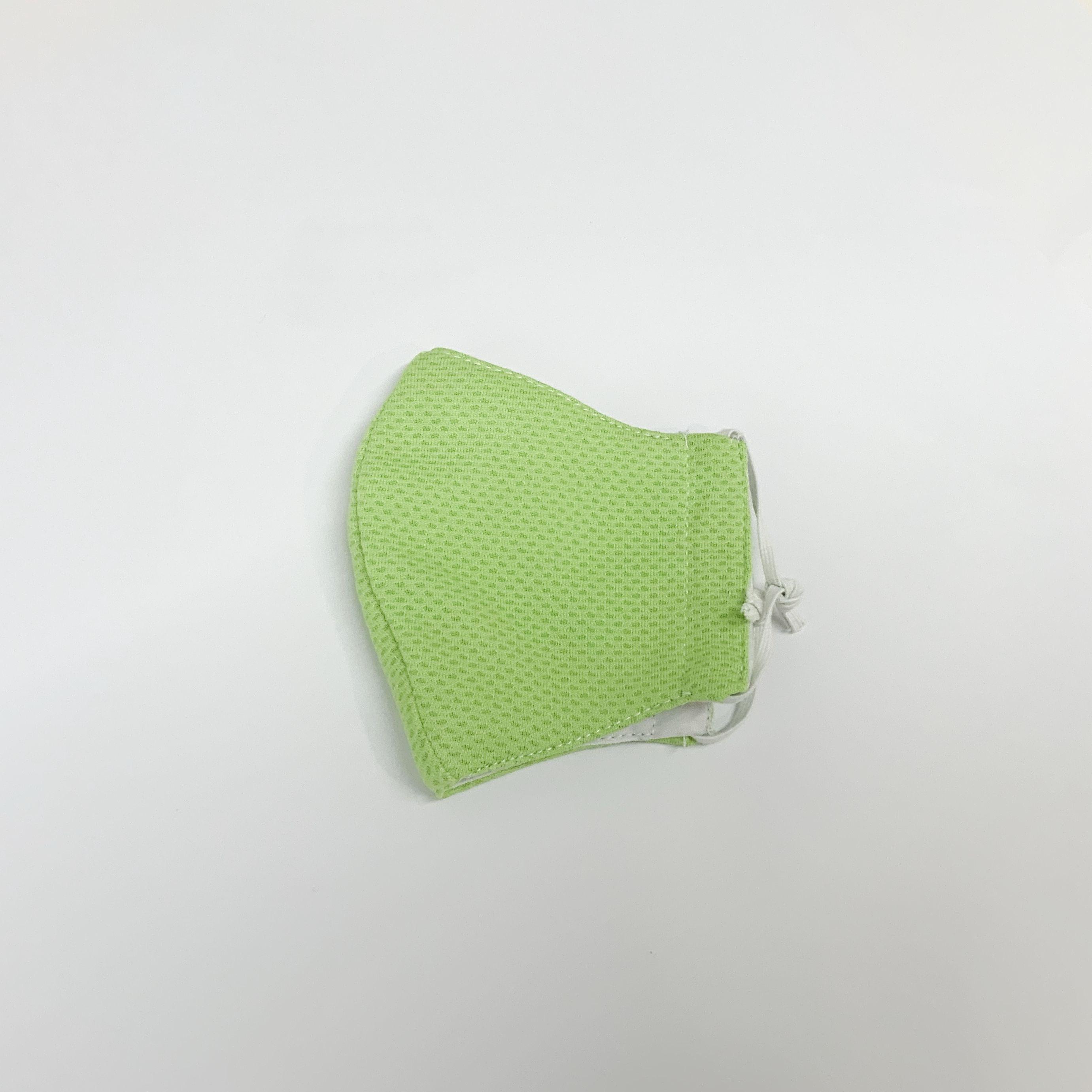 手作りマスク(緑)Sサイズ