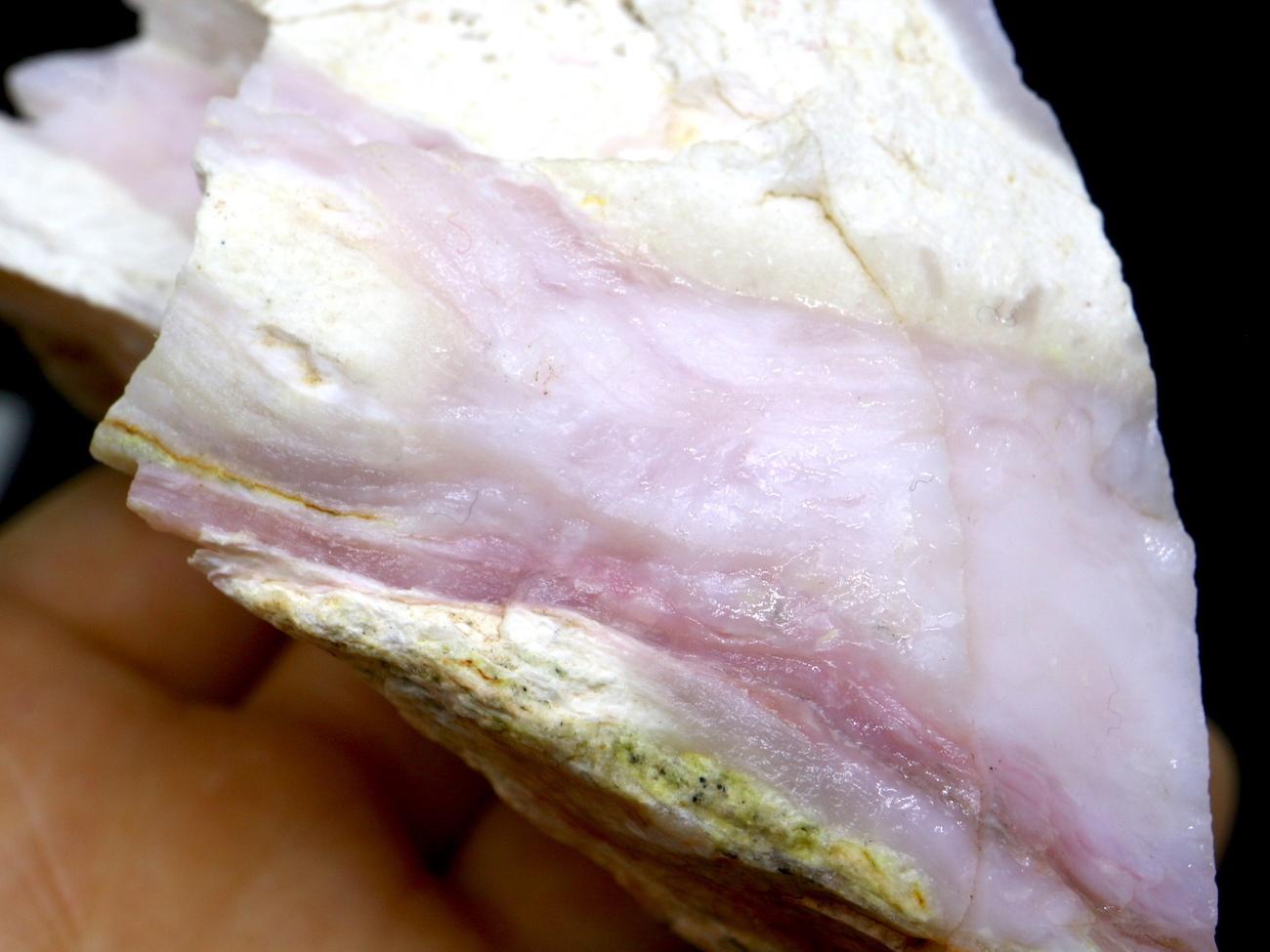 ペルー産 ピンクオパール 248,4g OP026 原石