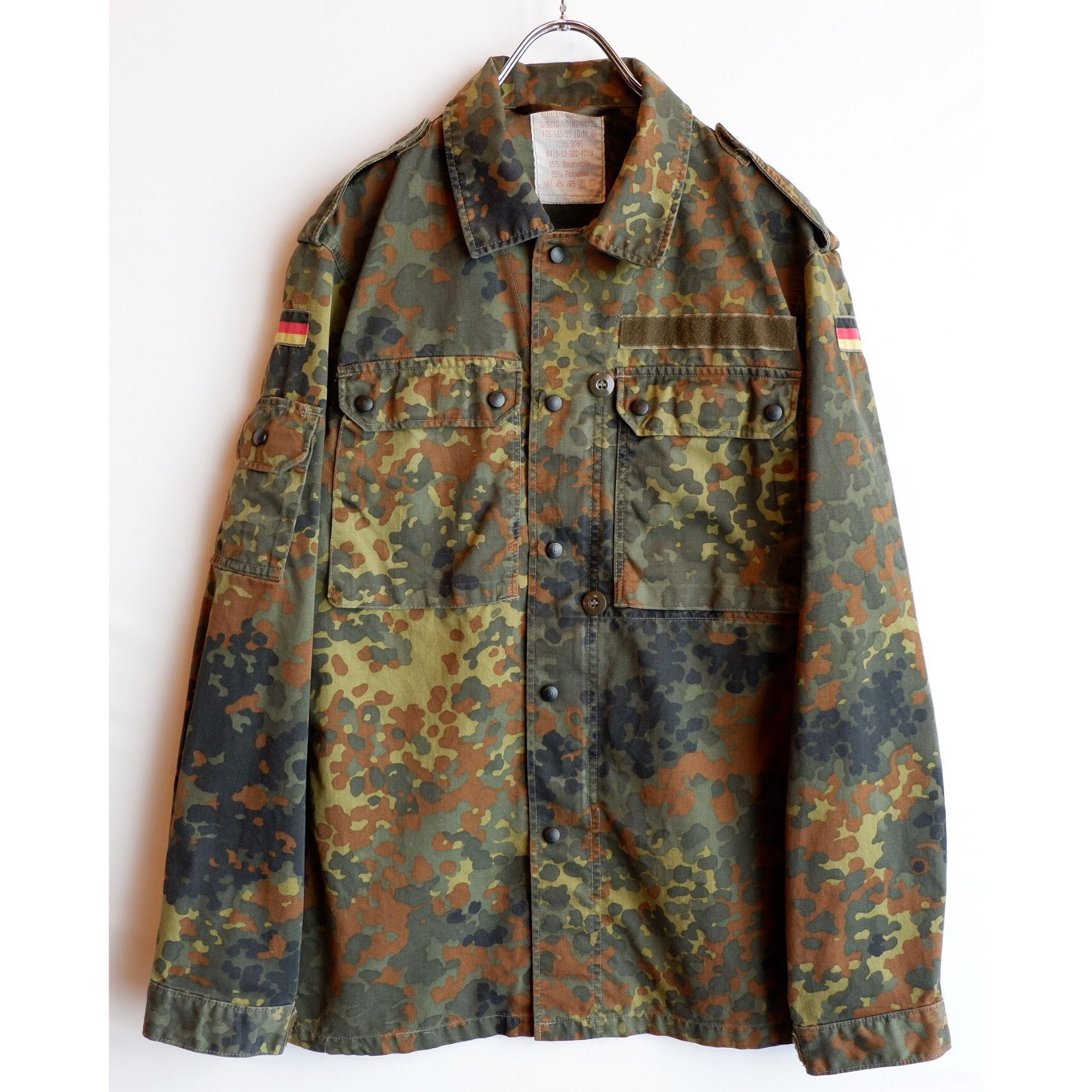 アメリカ古着 ドイツ軍 迷彩 ミリタリージャケット