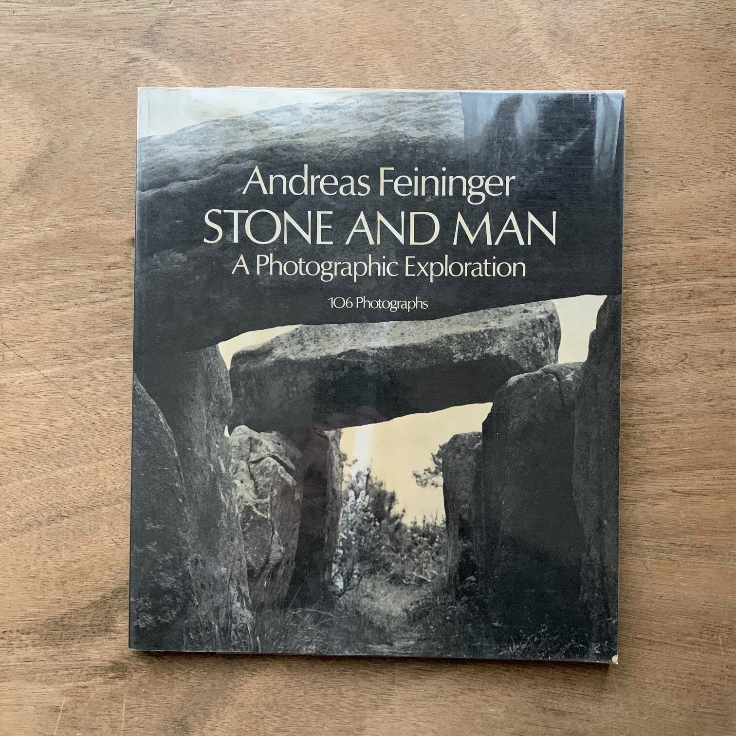 Stone and Man: / Andreas Feininger アンドレアス・ファイニンガー