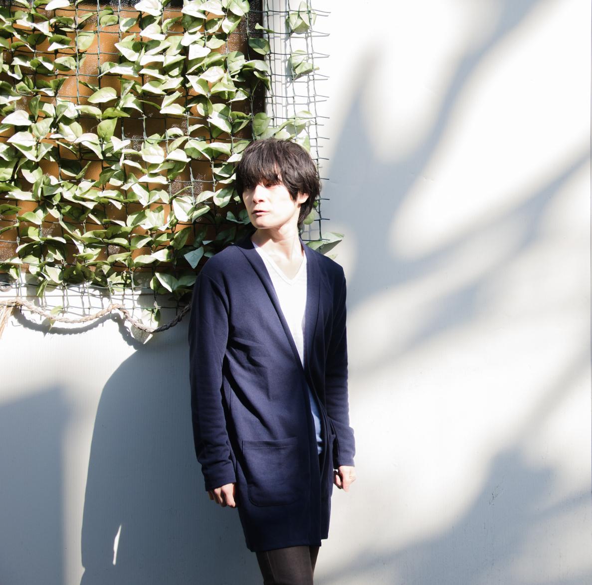 ニット/カーディガン/ロング丈/メンズ/カーディガン