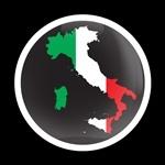 ゴーバッジ(ドーム)(CD0188 - FLAG ITALY 2) - 画像1