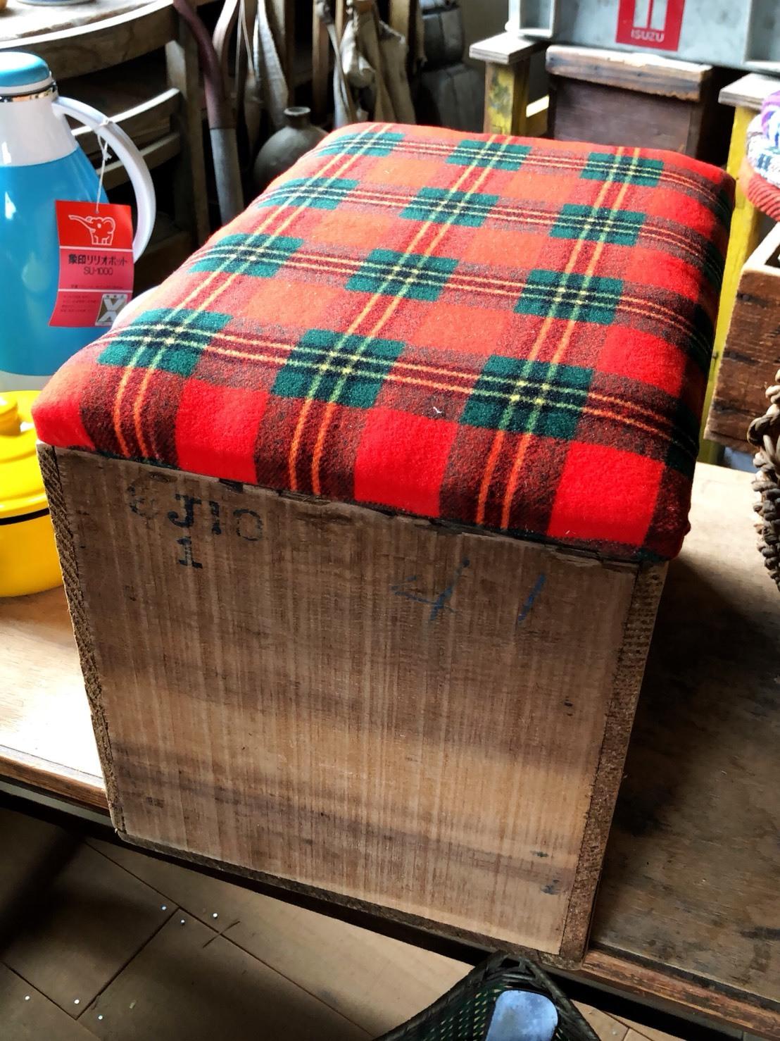 リメイク    木箱椅子