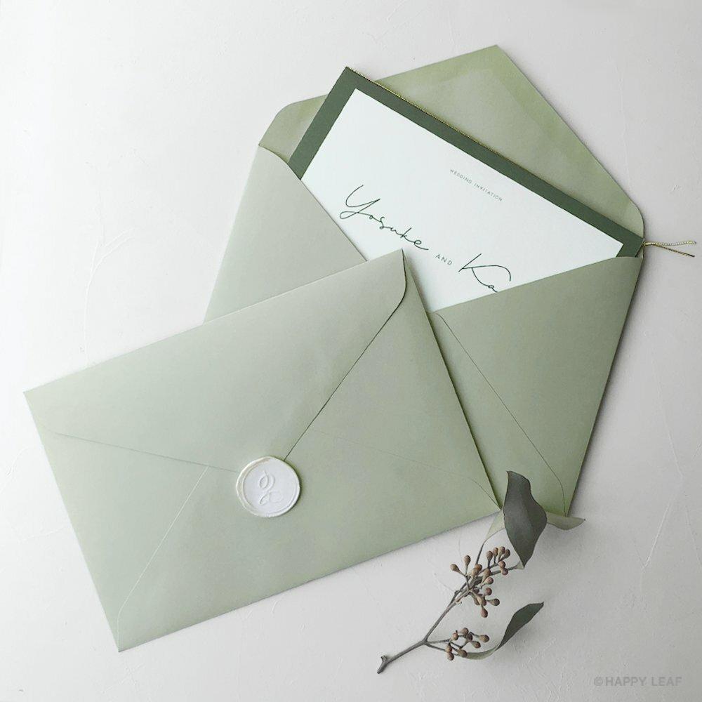 カラー封筒 グリーン(洋1)/10枚