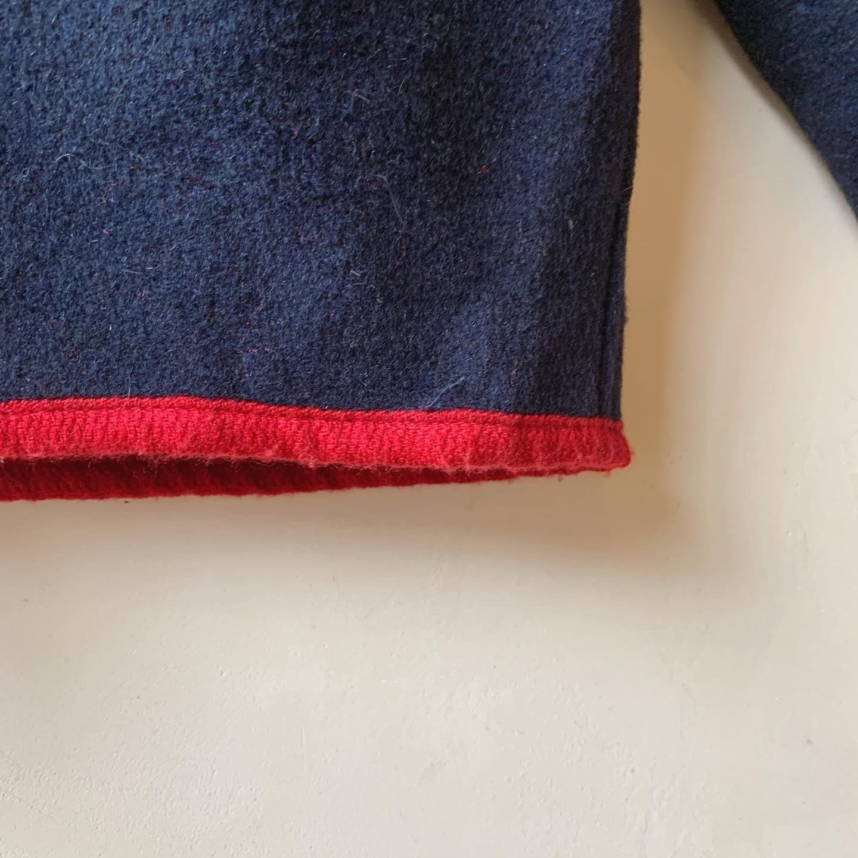 vintage wool tyrol cardigan