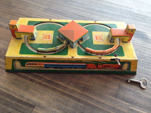 Vintage Russian Trains Toy