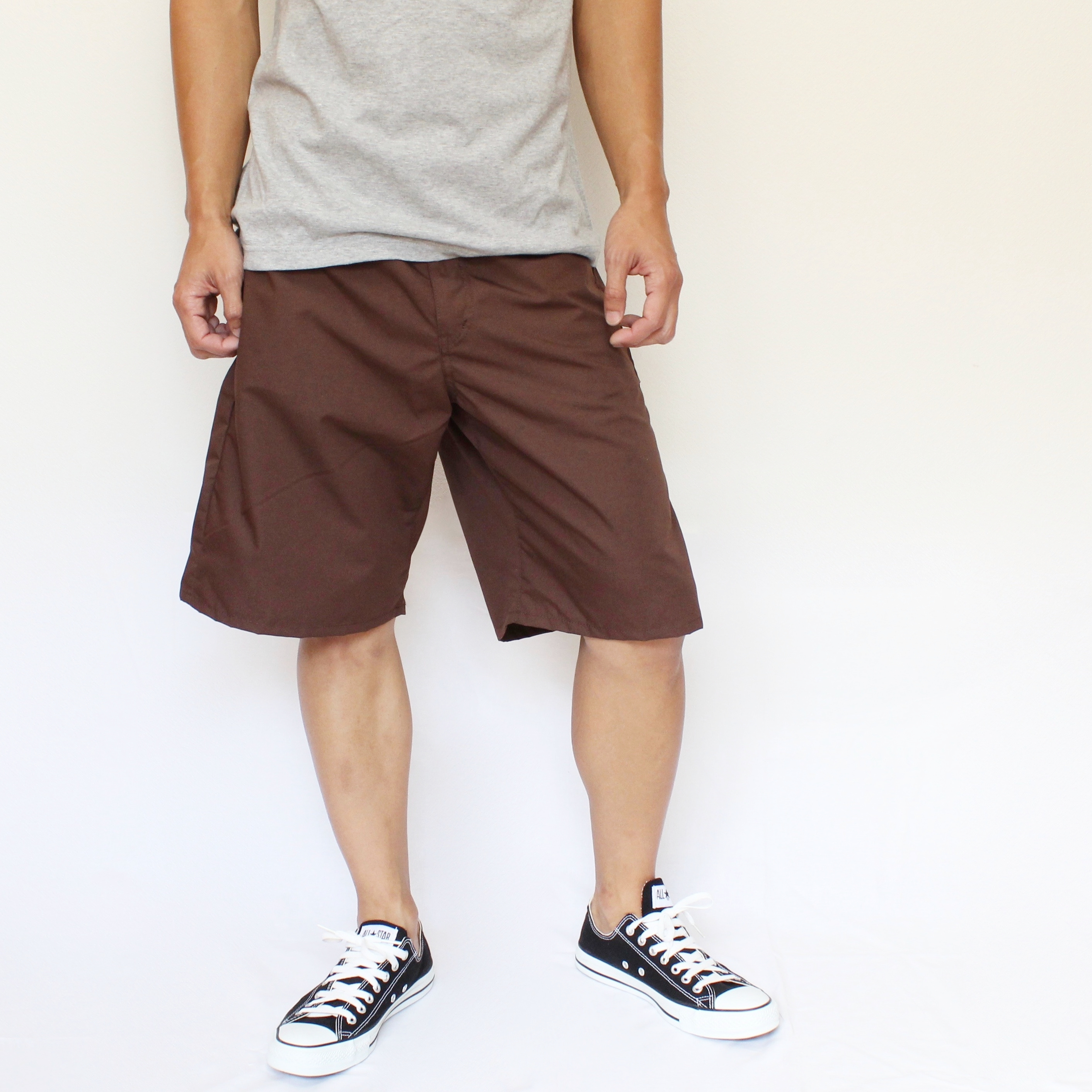 iggy shorts BROWN - 画像2