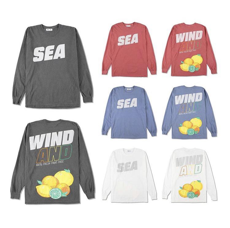 WDS SEA (sea alive) L\S T-SHIRT