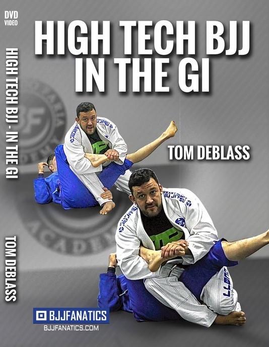 トム・デブラス HIGH TECH BJJ IN THE GI 4枚組DVDセット|ブラジリアン柔術教則DVD
