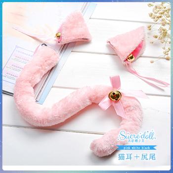 【セット販売】[NONORI]猫ランジェリーPink