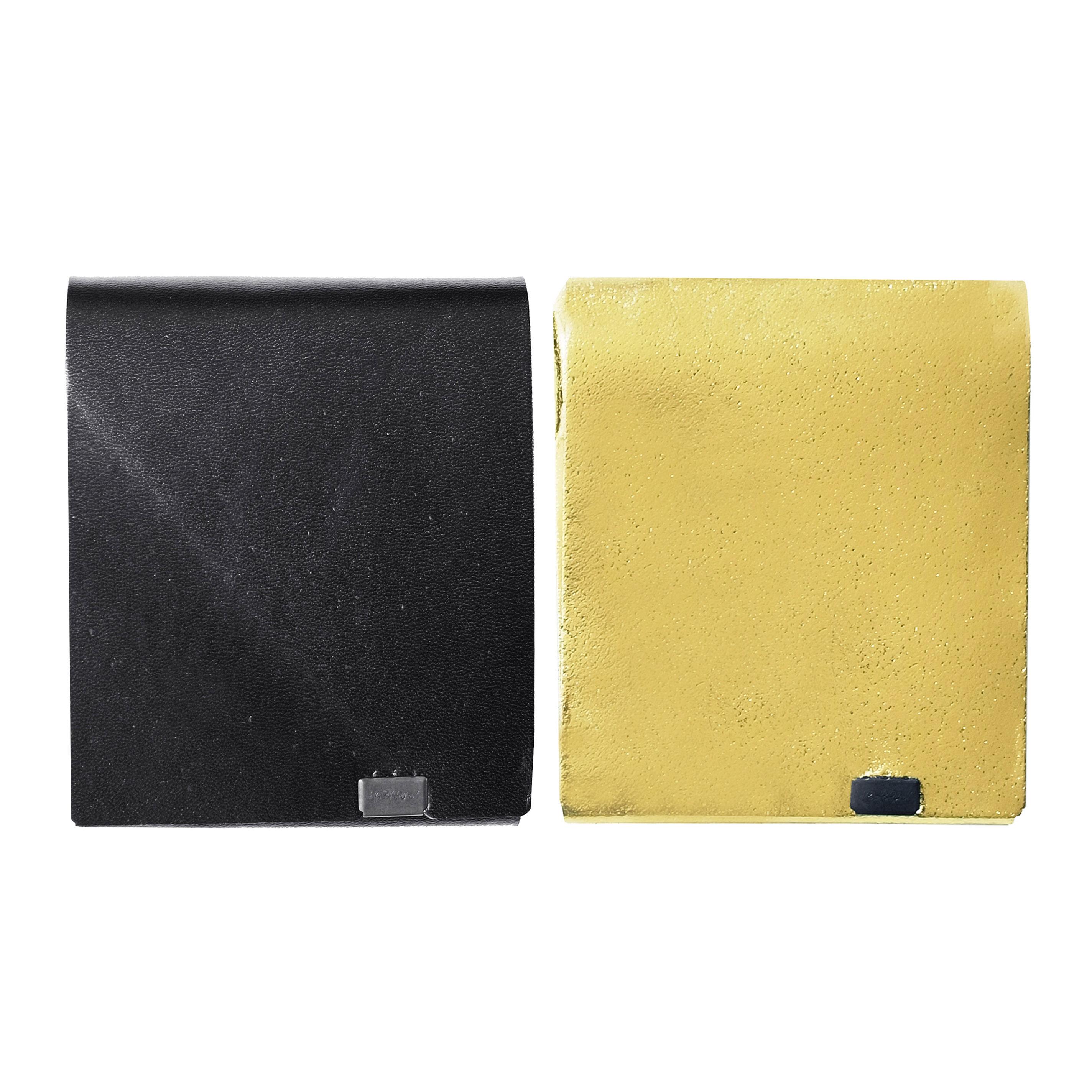 ボレロ -ショートウォレット2.0- ブラック×ゴールド&ゴールド×ブラック