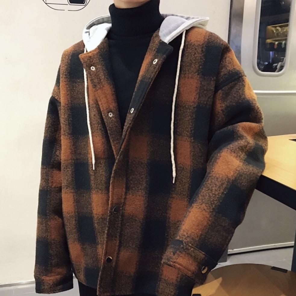 ビッグシルエットボアジャケット 冬のトレンド メンズ