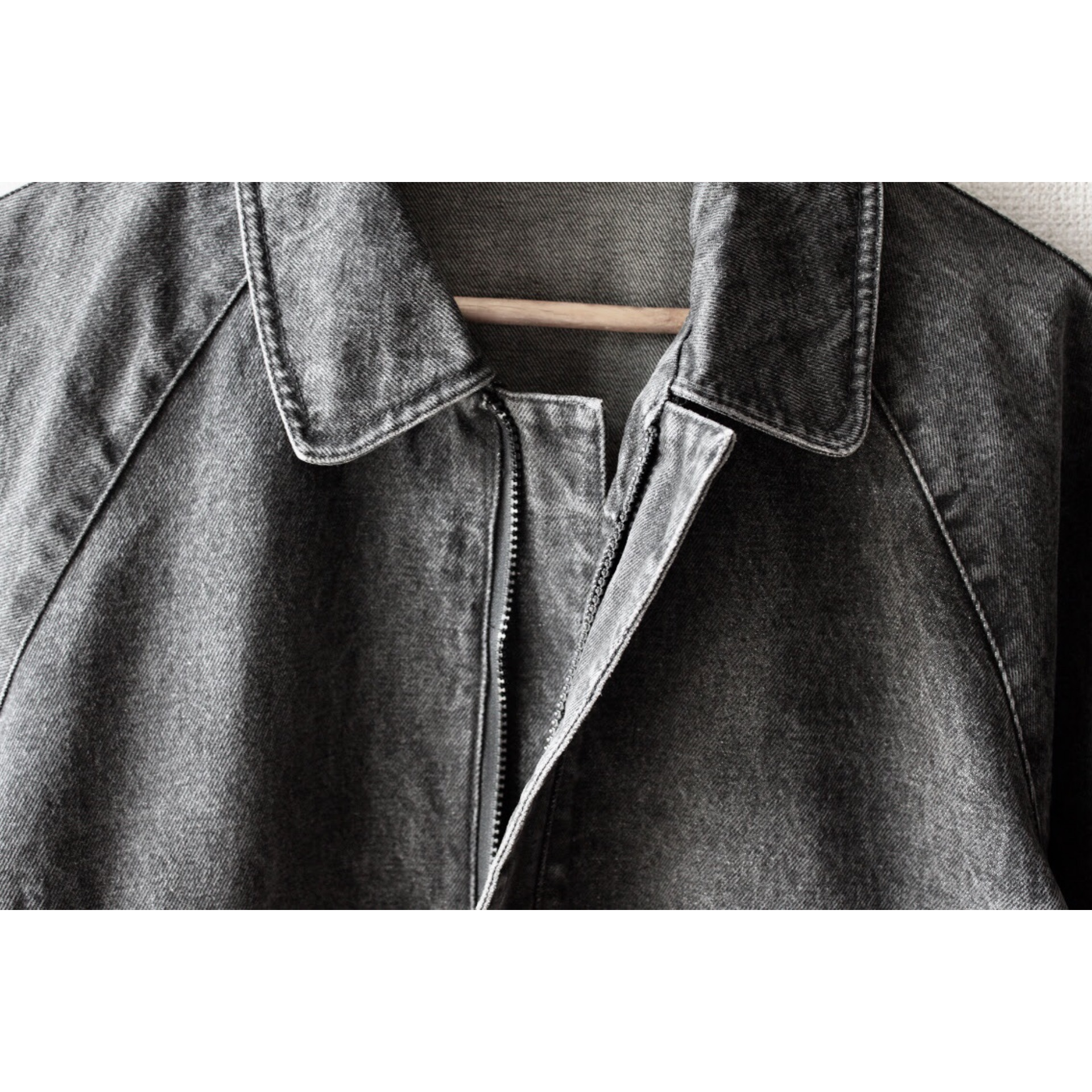Vintage black denim jacket