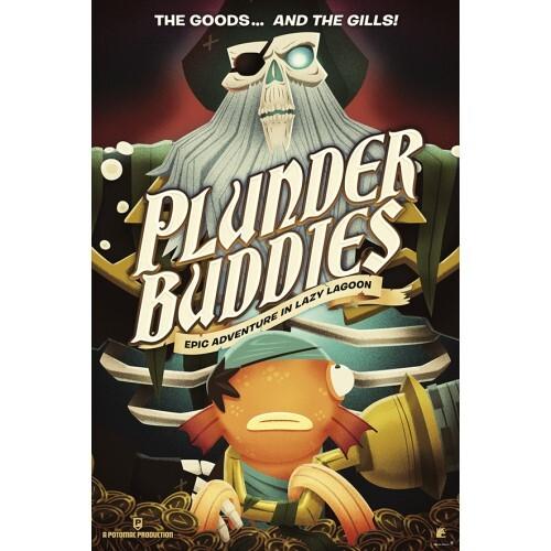 『フォートナイト』ポスター  (4)  PLUNDER BUDDIES   / エンスカイ