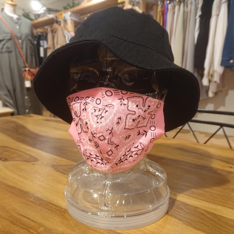 CANDY ペイズリー柄マスク 大人普通サイズ
