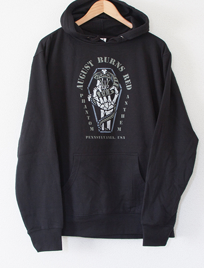 【AUGUST BURNS RED】Coffin Hoodie (Black)
