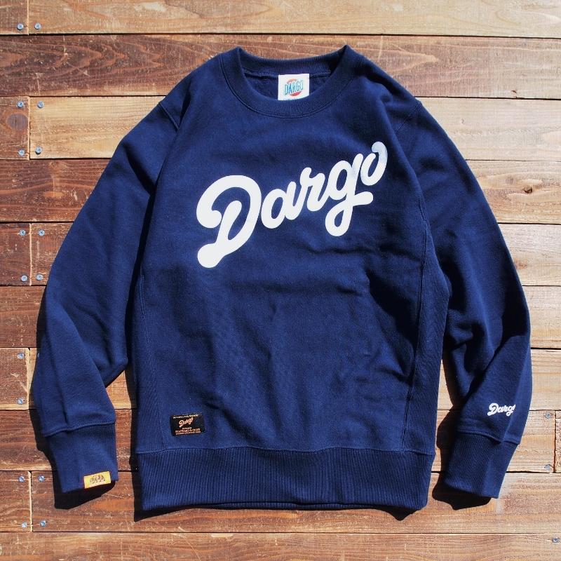 """【DARGO】""""DARGO Logo"""" Heavy Weight Sweat Shirt (NAVY)"""