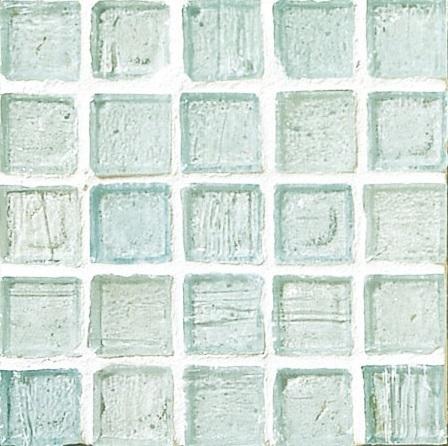 Staind Grass Mosaic【Cayman Blue/Natural】ステンドグラスモザイク【ケイマンブル-/ナチュラル】