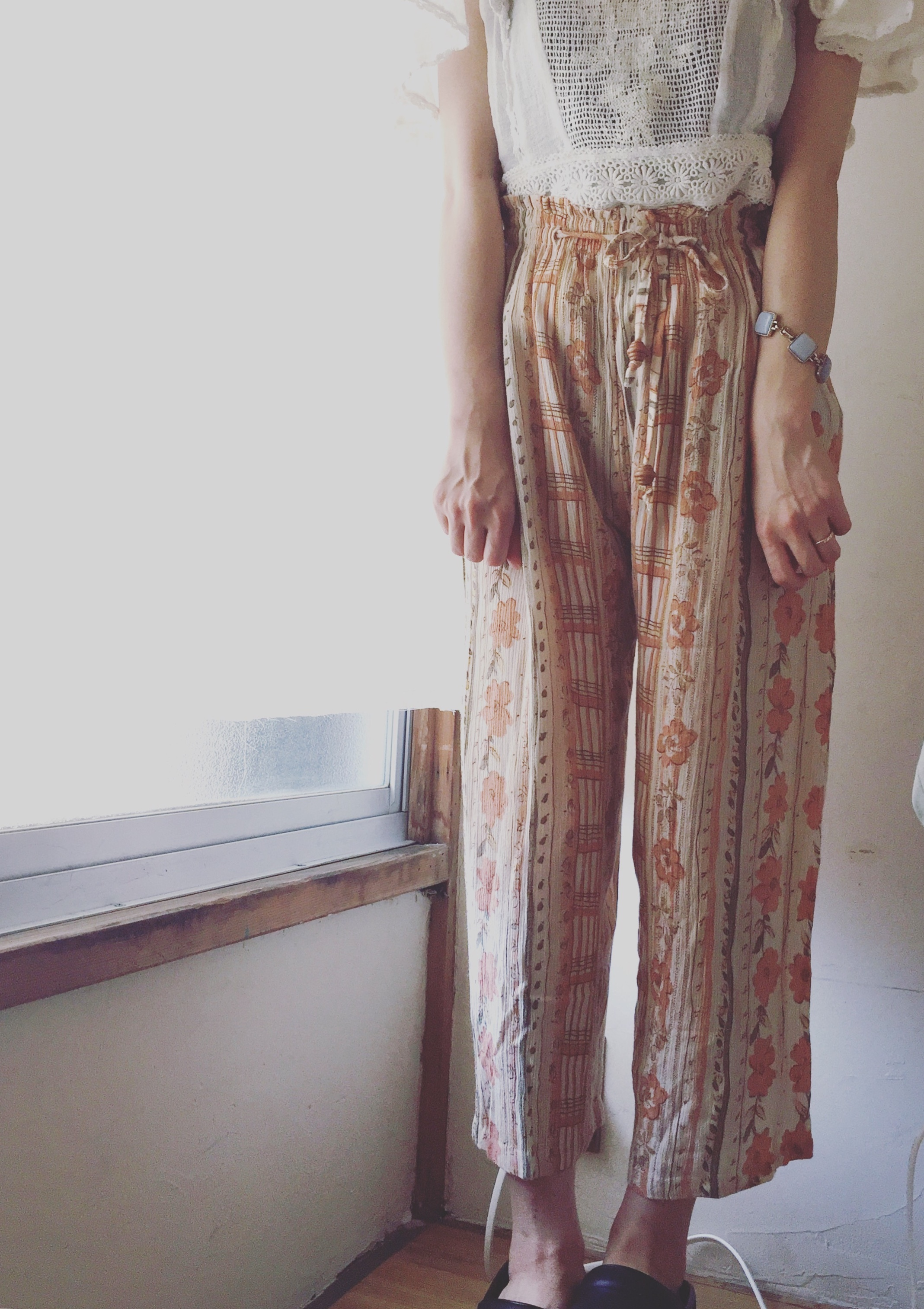 vintage cotton pants