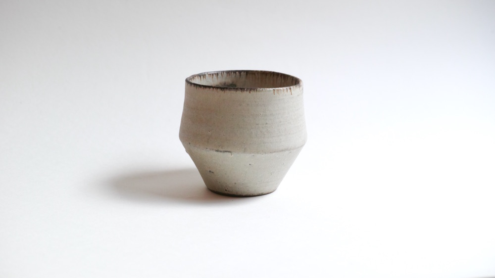 福井亜紀/植木鉢/siro・S(多肉植物向け)