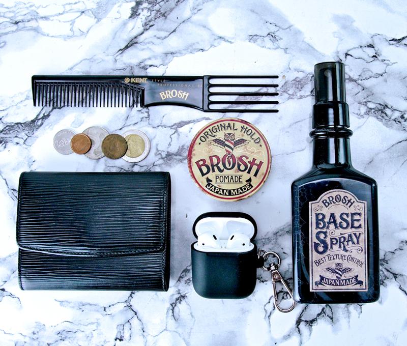 BROSH ブロッシュ ポマードミニ オリジナル(香りあり)40g