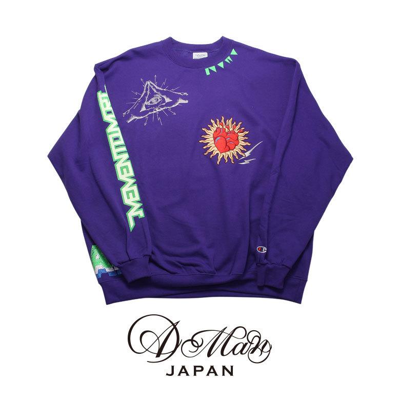 A Man Memento Mori Big Sweatshirt エーエムエーエヌ メメント モリ ビッグスウェット
