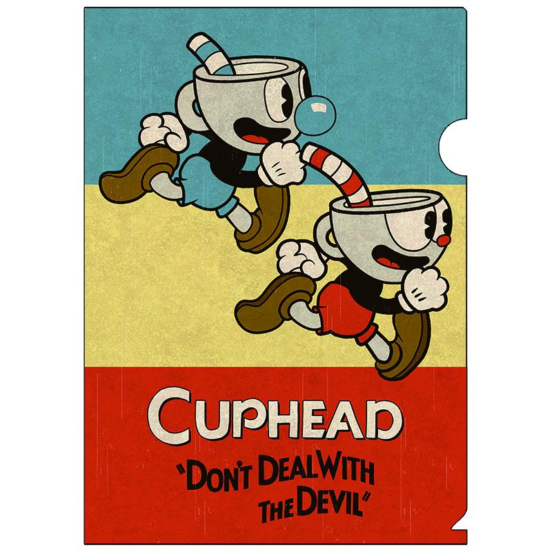 CUPHEAD ( カップヘッド ) A4クリアファイル② / エンスカイ