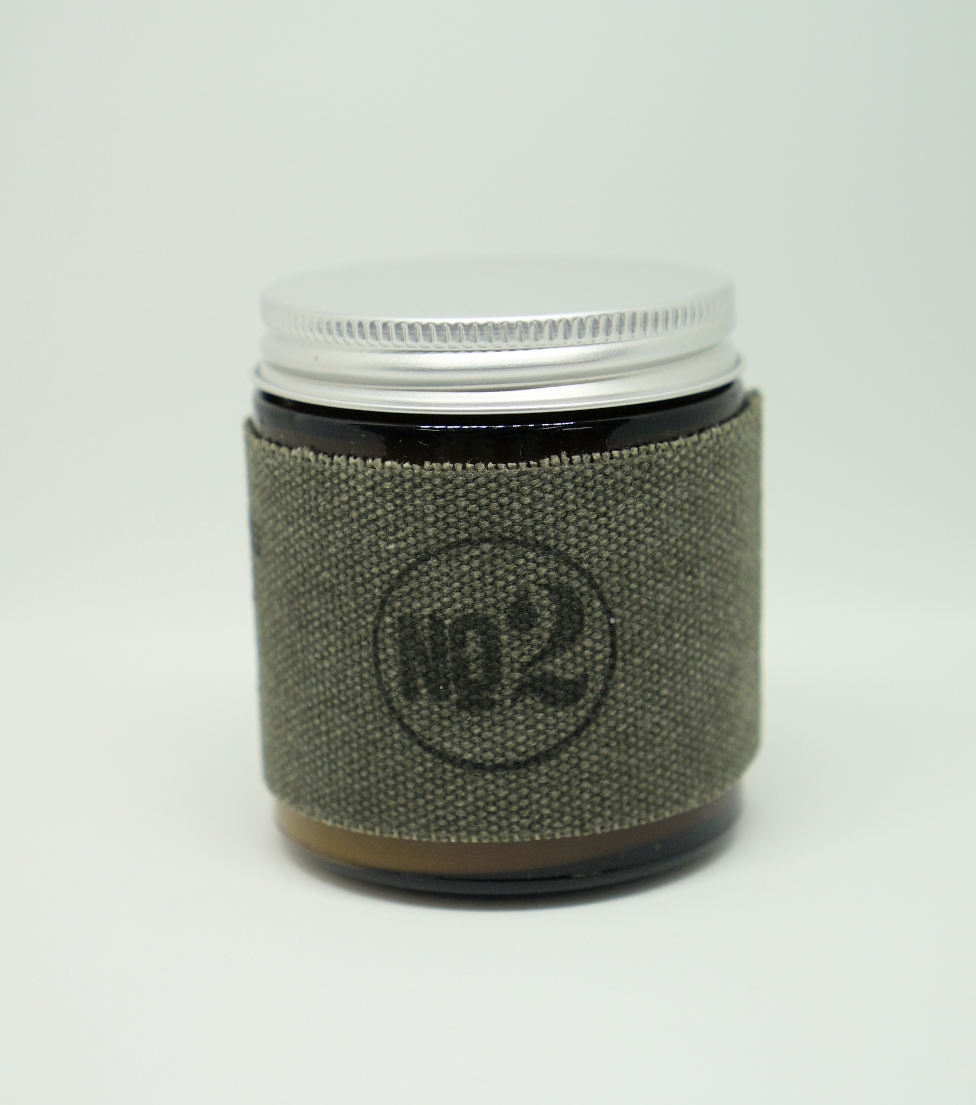 4oz Amber Jar Candle -LEMONGRASS AND SAGE- キャンドル Candles - 画像2