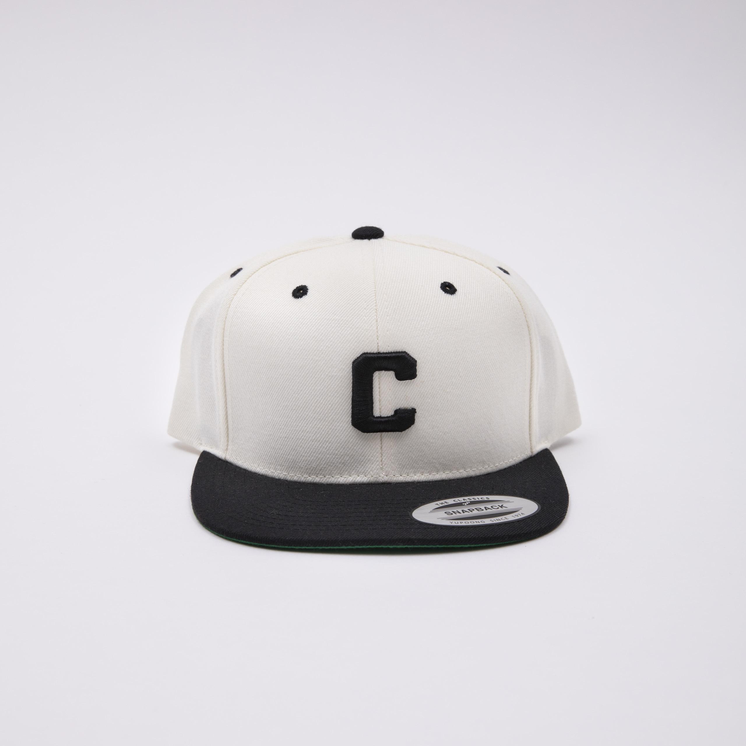 Crate Snap Back Cap WHITE×Black