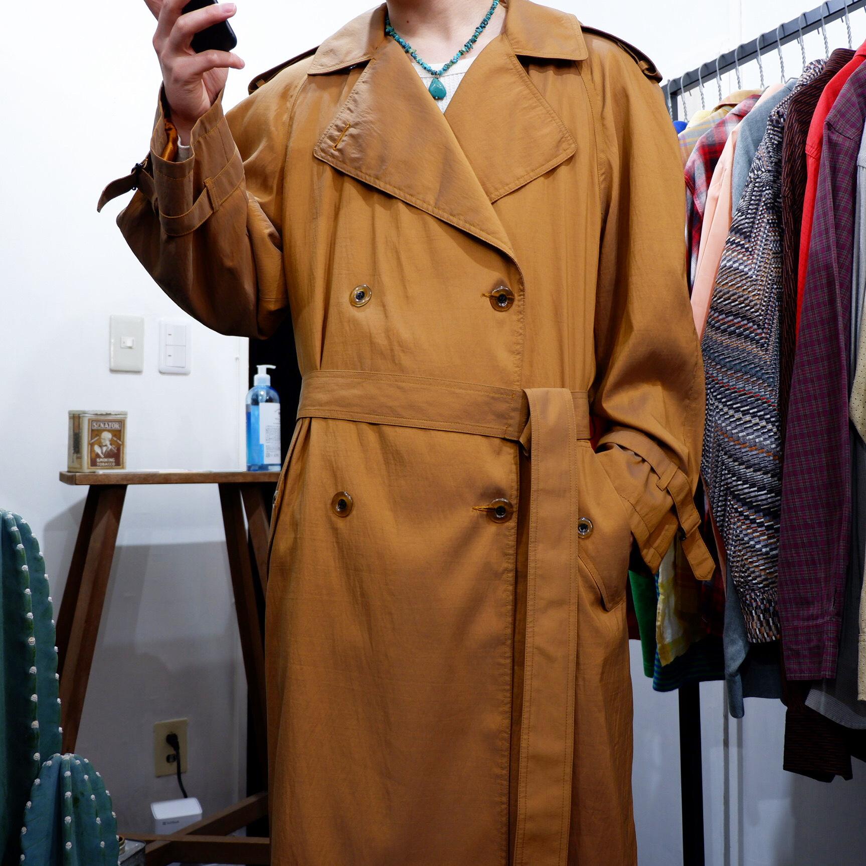アメリカ古着 USA製 スプリングコート