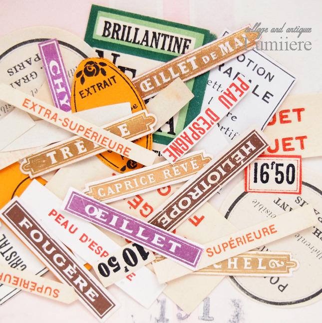 perfume label set