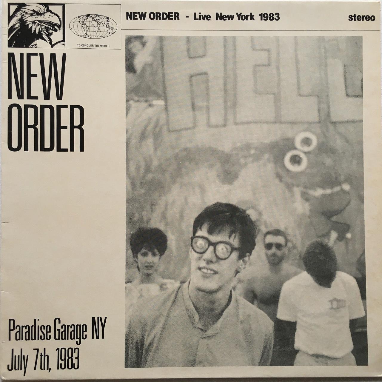 【LP・独盤】New Order / Paradise Garage NY July 7th, 1983