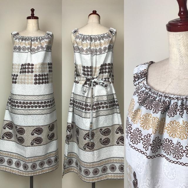 らくらくリゾートワンピース 12 (日本縫製)