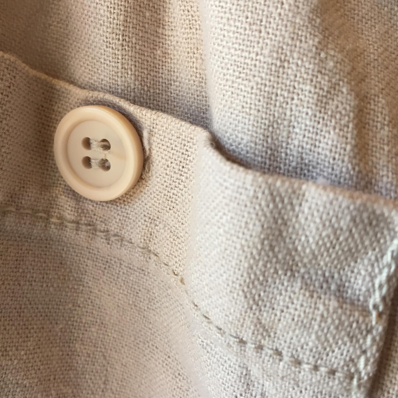 vintage linen rayon pants