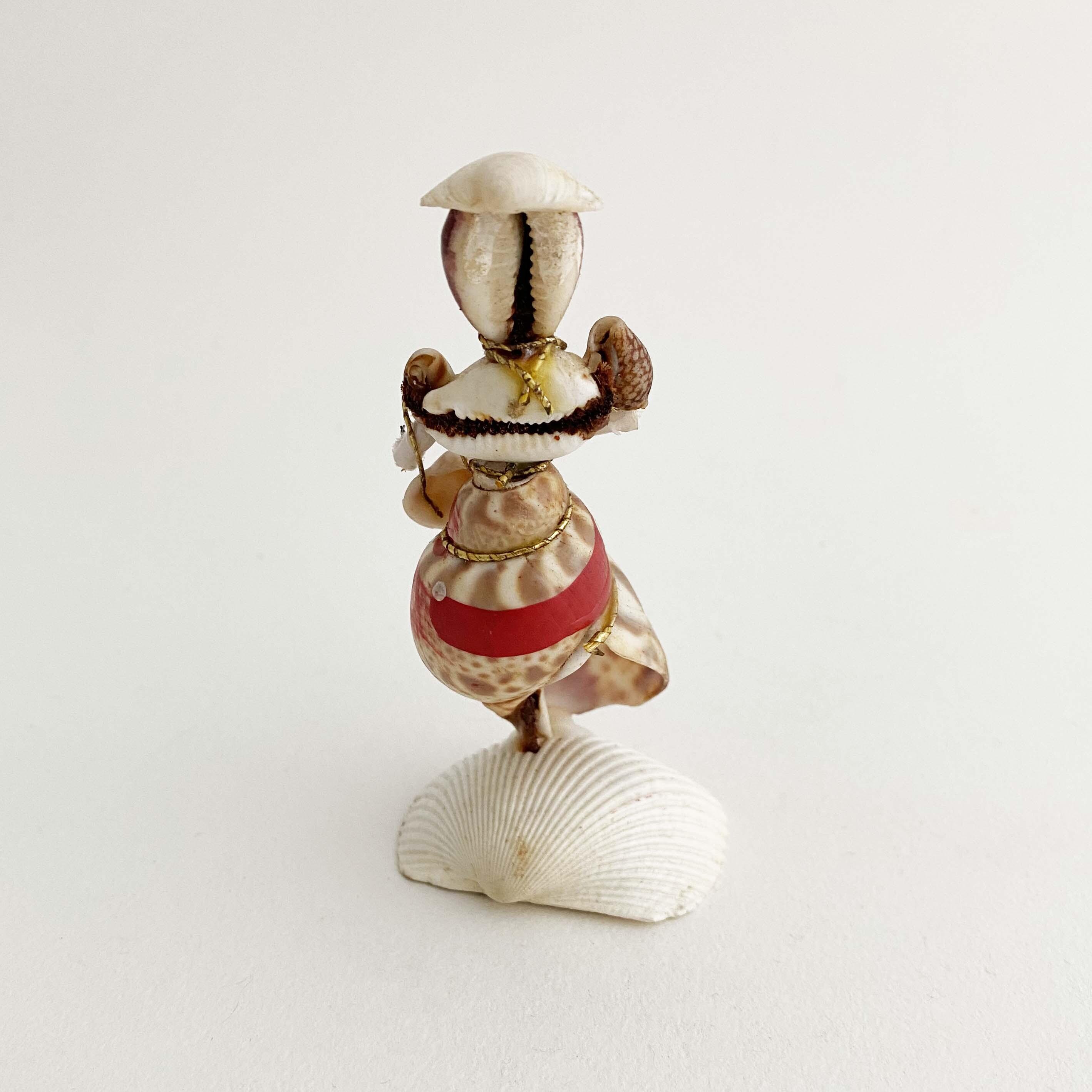 デッドストック昭和 貝人形お嬢さん(バイ貝)