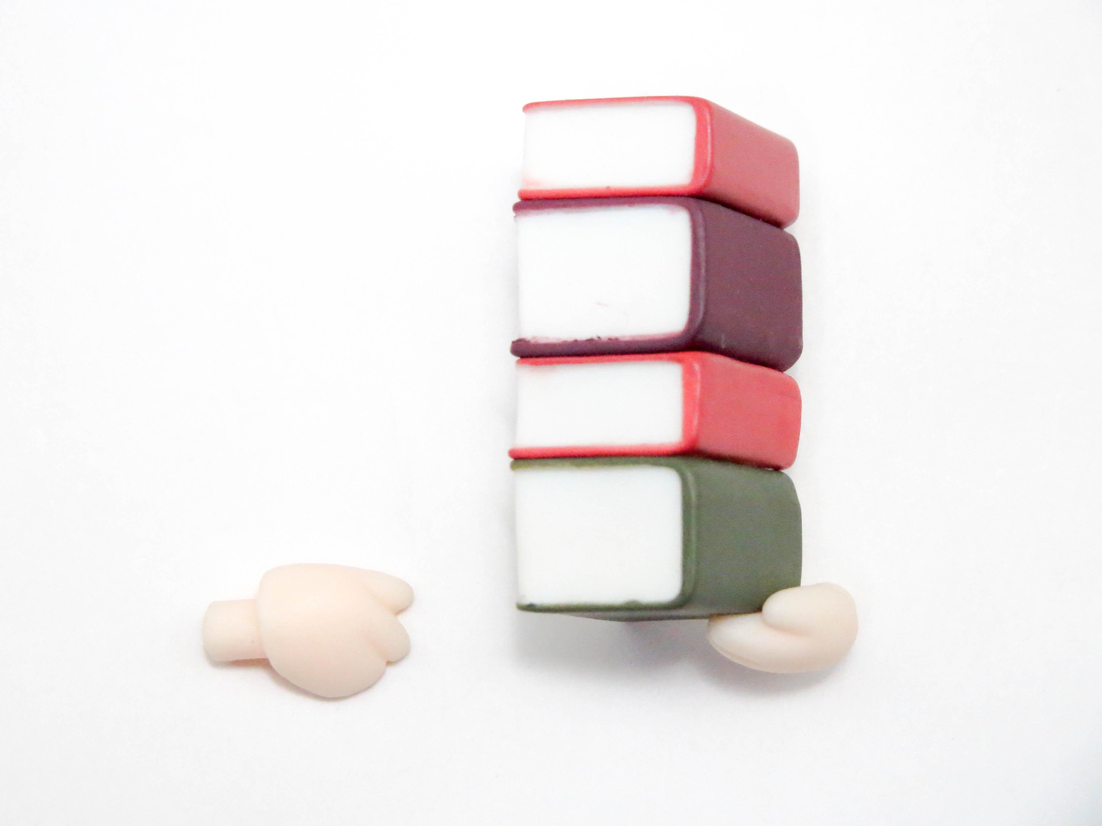 再入荷【262】 リコッタ・エルマール 小物パーツ 重ねた本 ねんどろいど