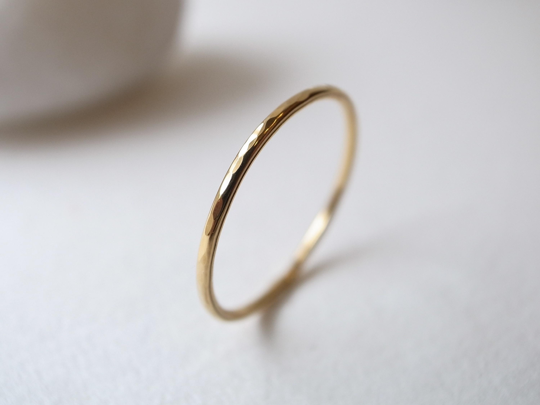 K18YG/tsuchime ring