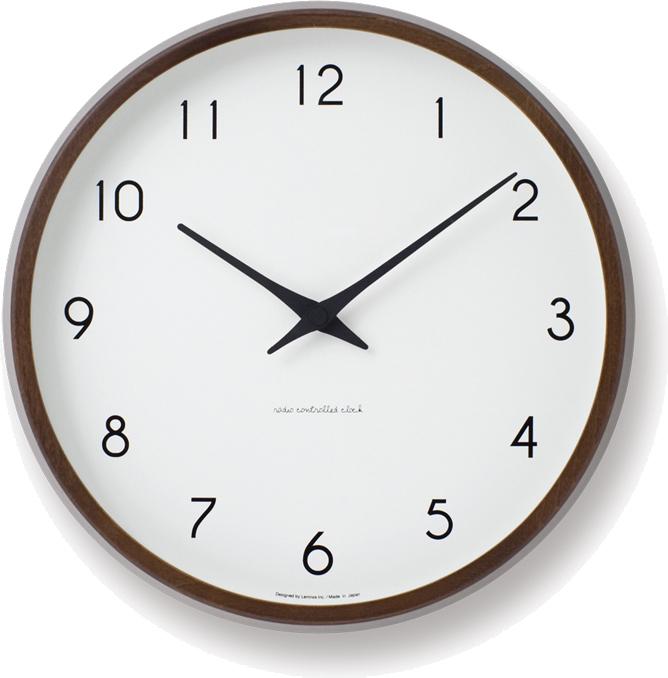タカタレムノス  Campagne 電波時計 ブラウン PC10-24W BW