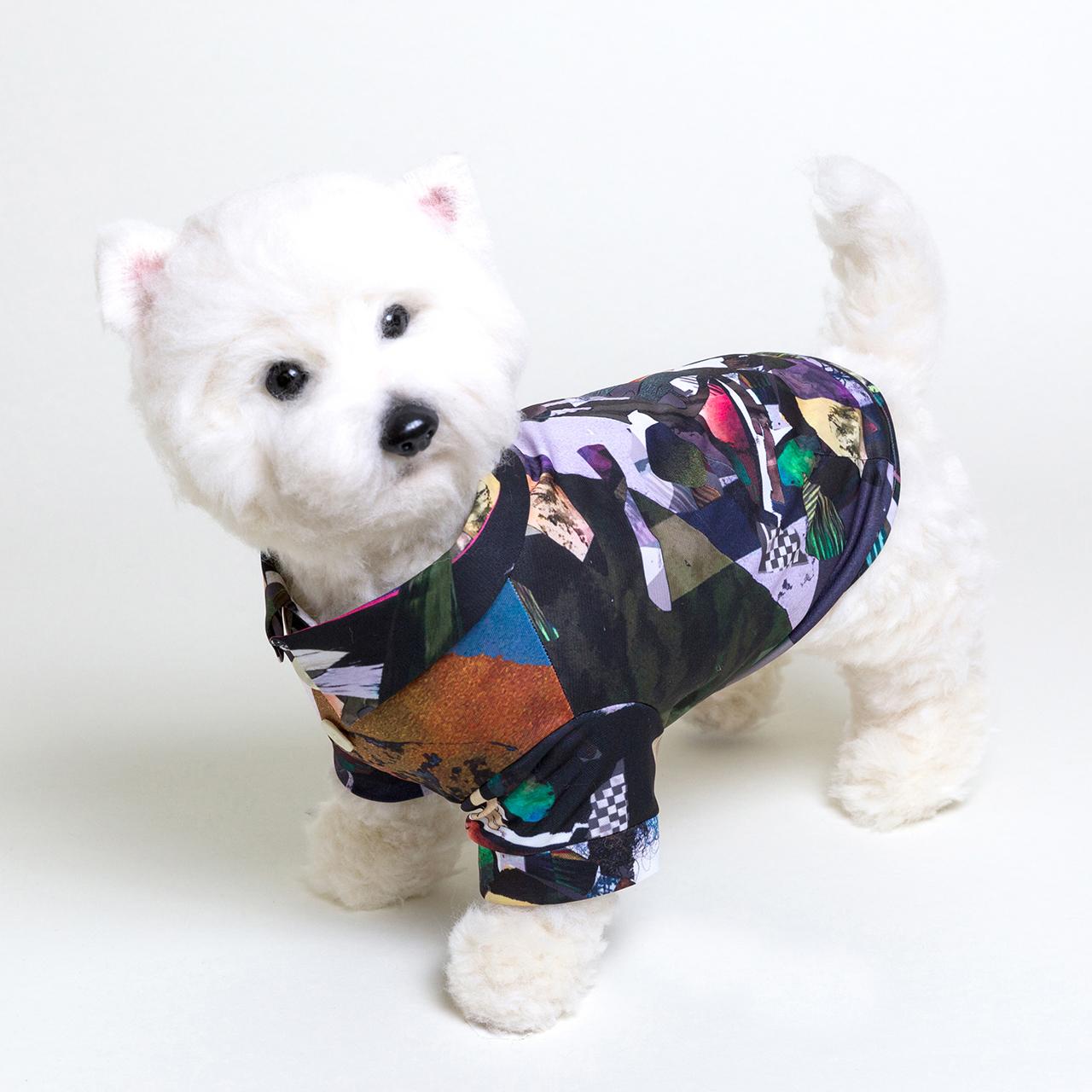 jibun-fuku DOG 【シャツドレス】DOGFC201822_ML