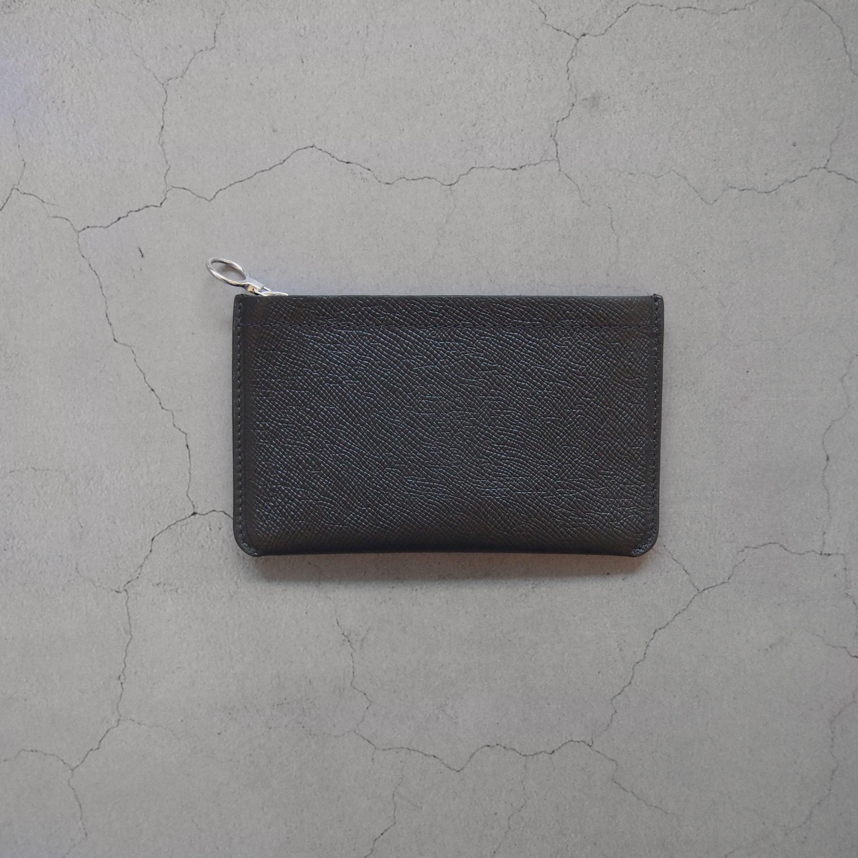 Aeta BI06 MINI WALLET BLACK/SILVER