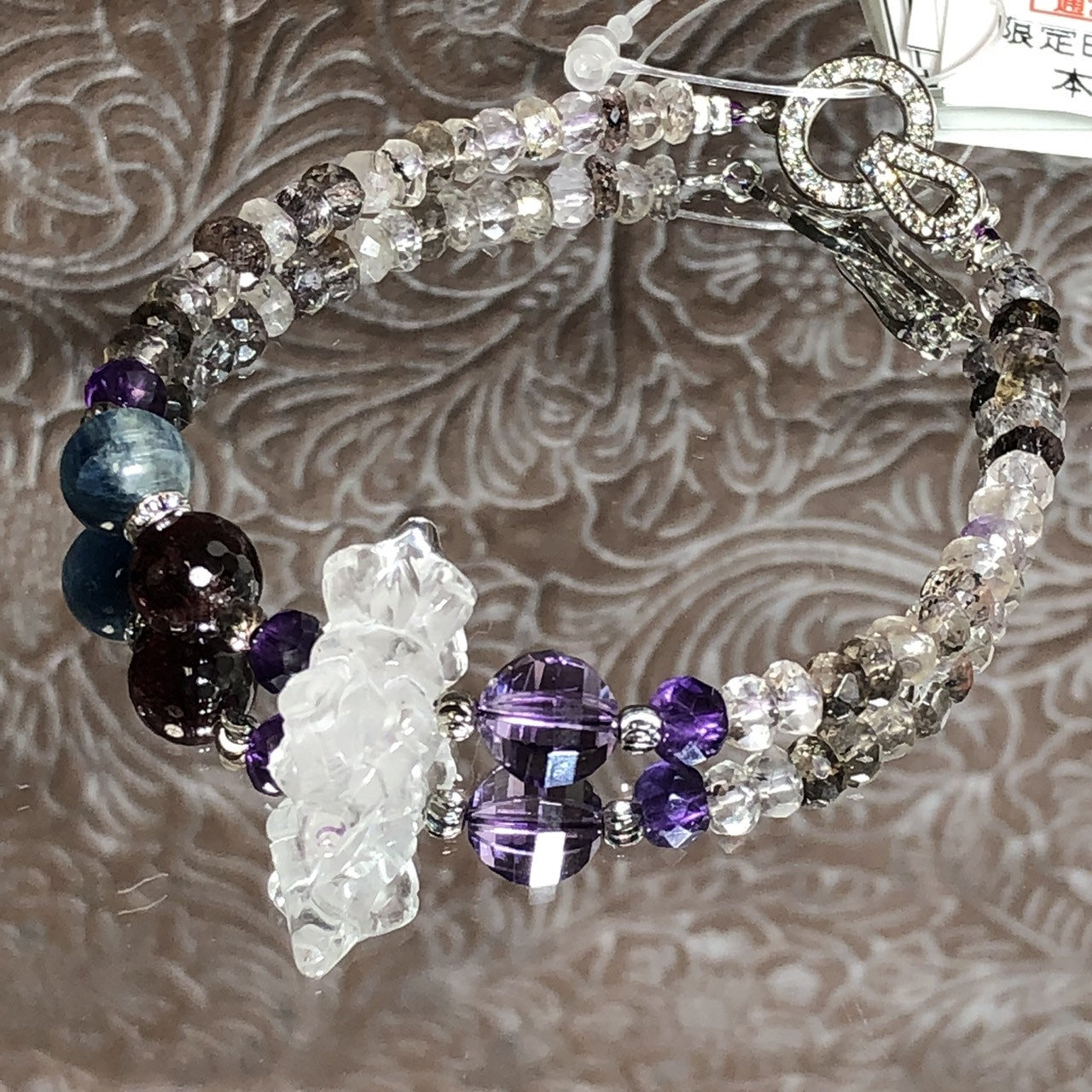 水晶バジュラとスーパーセブンの綺麗め系ブレス