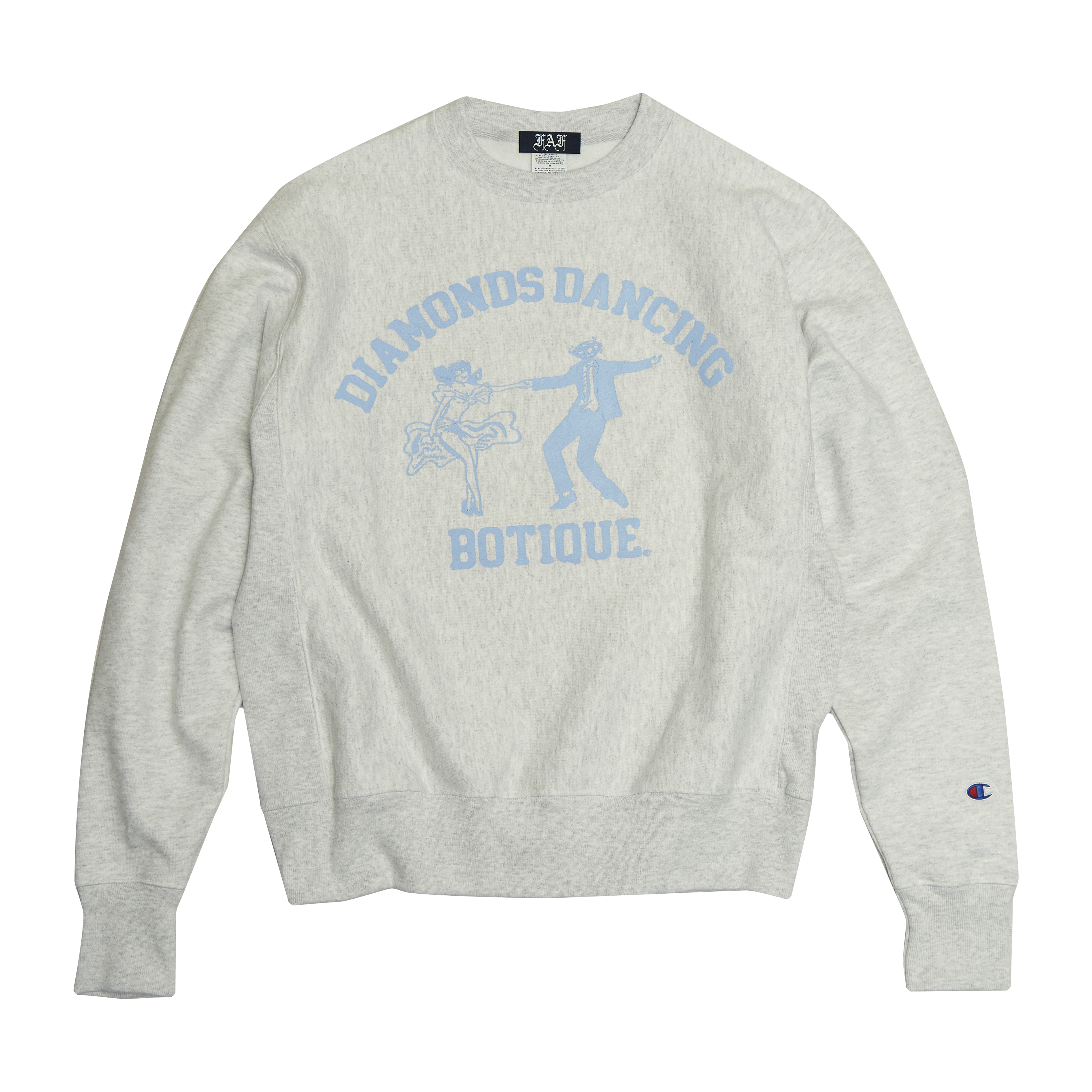 DDB sweatshirt -gray- - 画像1
