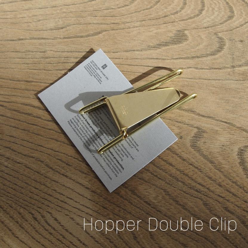Hopper Double Clip [GOLD]  マネークリップ