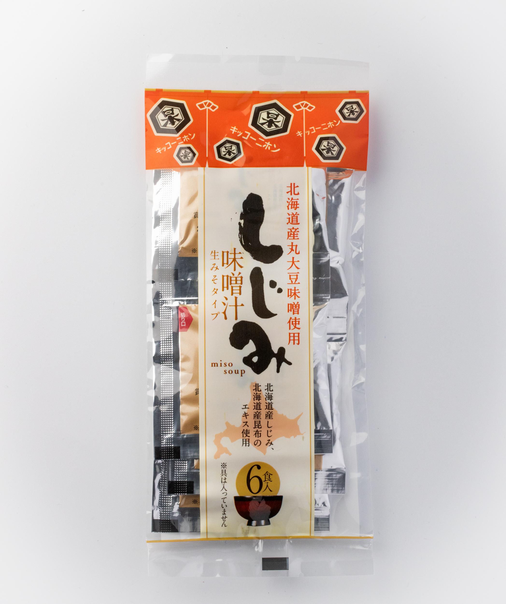 しじみ味噌汁(6食入り)【特売品】