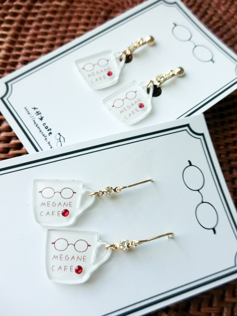 """MUG"" earring 《or ピアス》"