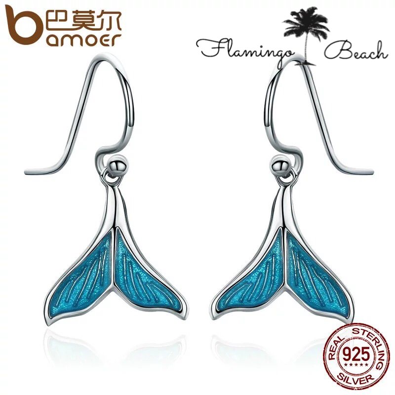【FlamingoBeach】925 whale pierce