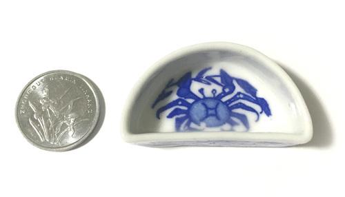 水盘 蟹(半月型)