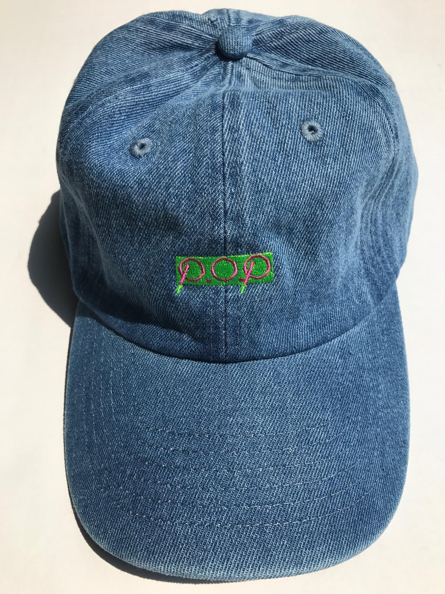 P.O.P CAP デニム - 画像3