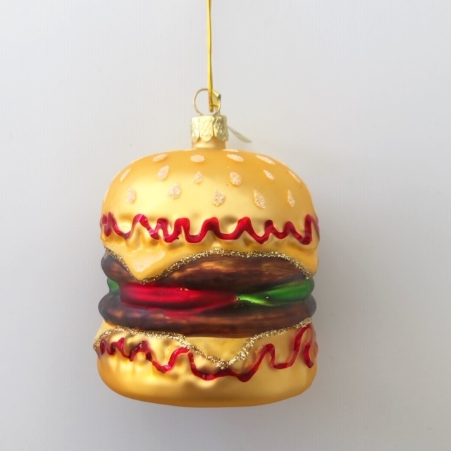 "Christmas Ornaments ""DOUBLE CHEESEBURGER"" クリスマスオーナメント"