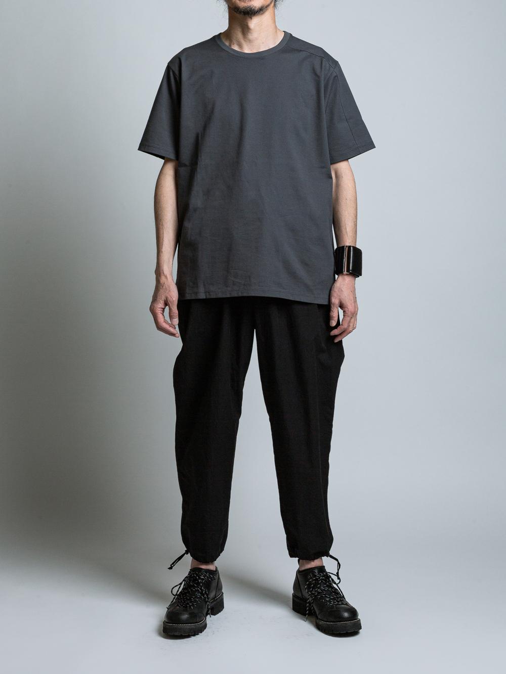 VI-SP-065-01 / 2枚パックTシャツ BLACK×GRAY